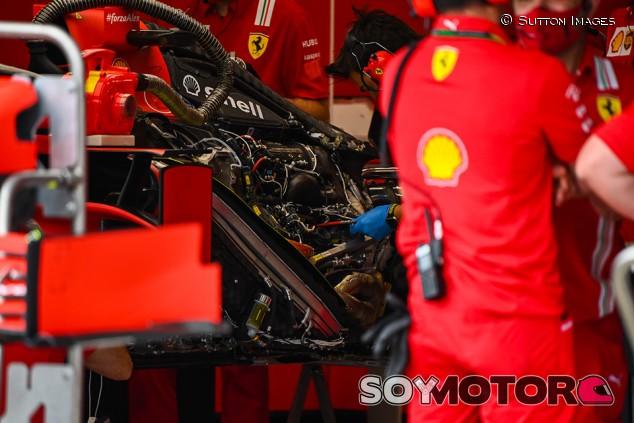 Ferrari arriesga con las soluciones de su motor de 2021 - SoyMotor.com