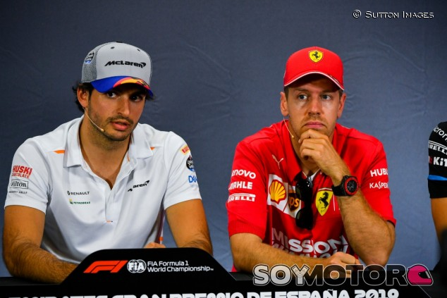 Carlos Sainz y Sebastian Vettel - SoyMotor.com
