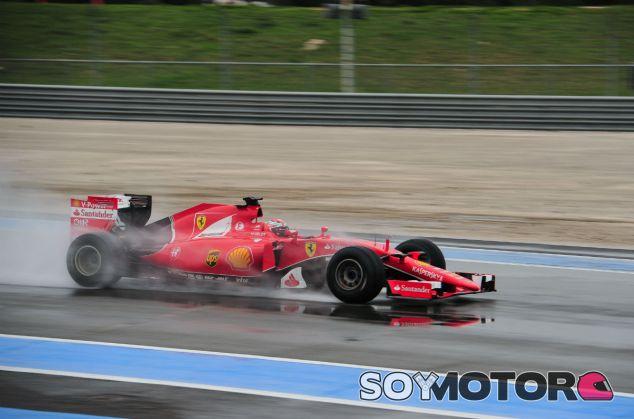 Ferrari acuerda un test de mojado con Pirelli con el coche de 2015 - SoyMotor