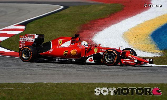 Sebastian Vettel, ayer en Malasia - LaF1