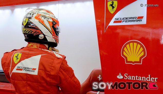 La espalda de Kimi Räikkönen no sufrió en Baréin