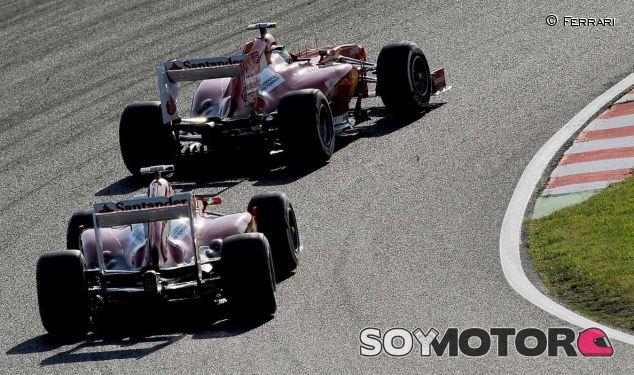 Felipe Massa y Fernando Alonso en el GP de Japón F1 2013 - LaF1