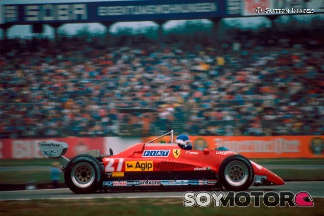 El Ferrari 126 C2 de Tambay y Andretti de 1982, a subasta - SoyMotor.com