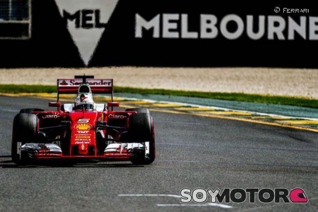 Vettel saldrá tercero en la primera carrera de la temporada - LaF1