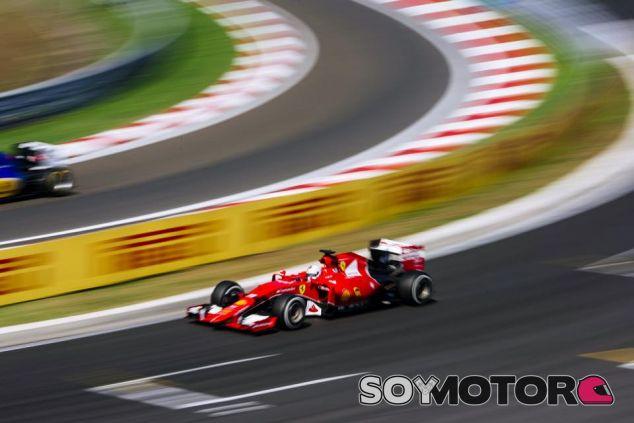 Sebastian Vettel en Hungría - LaF1.es