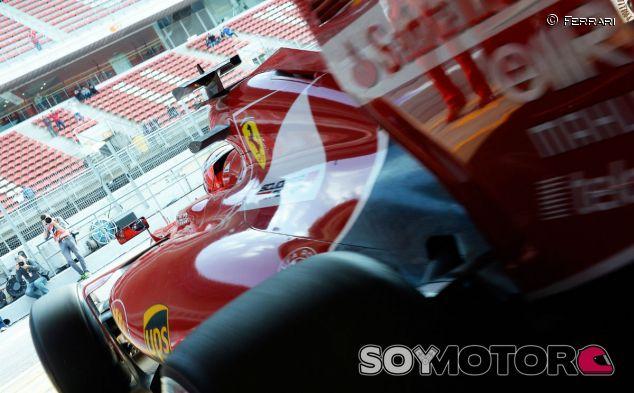 Kimi Räikkönen, hoy en Montmeló - LaF1