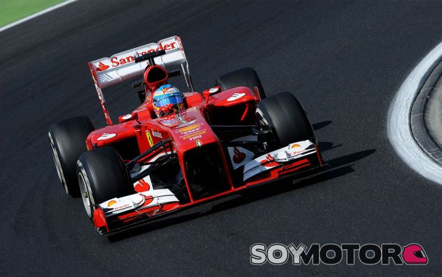 Fernando Alonso y su F138
