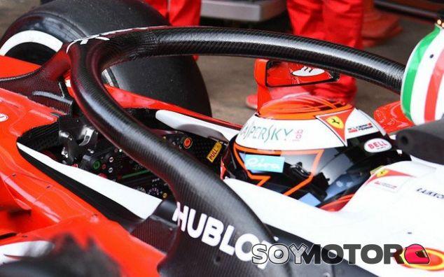 El padre de Bianchi se muestra escéptico respecto al 'halo' probado hoy por Räikkönen - LaF1