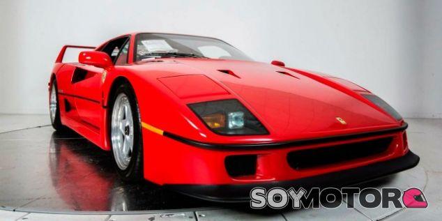 Ferrari F40 en venta con 3.000 kilómetros