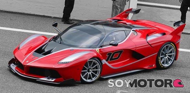 Ferrari FXX K - SoyMotor.com