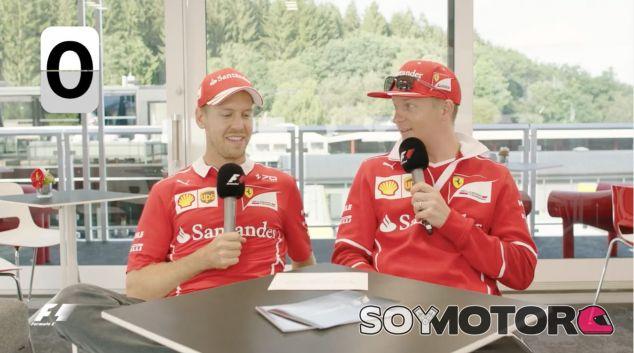 Captura del Grill the Grid de Ferrari – SoyMotor.com