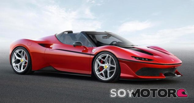 Ferrari J50 para conmemorar los 50 años de Il Cavallino en Japón - SoyMotor.com
