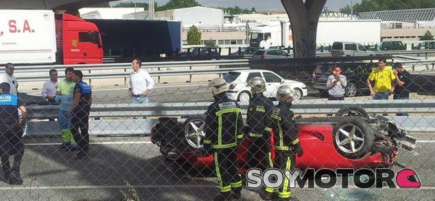 El Ferrari 360 Modena acabó destrozado - SoyMotor