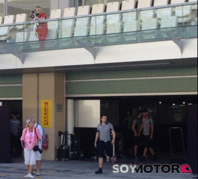Mercedes caza una espía de Ferrari en los test de Abu Dabi - LaF1.es