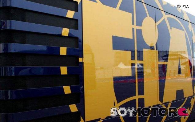 Camión de la FIA - LaF1.es