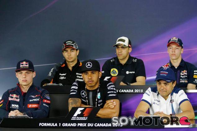 Rueda de prensa de la FIA del jueves en Montreal - LaF1.es
