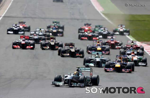 Salida del Gran Premio de Gran Bretaña - LaF1