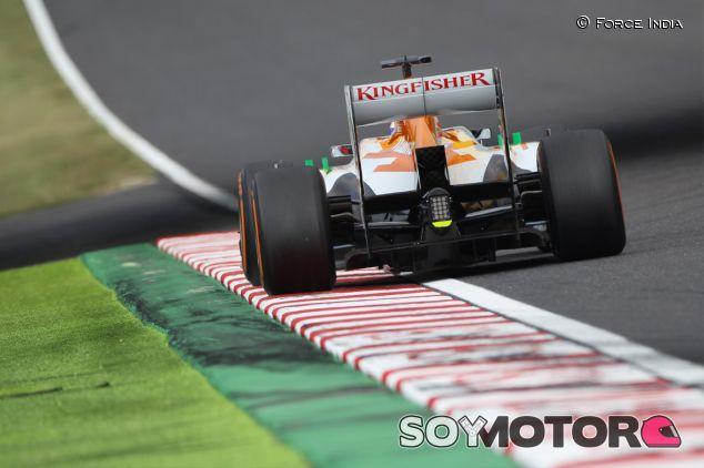 Un Force India en el pasado Gran Premio de Suzuka - LaF1