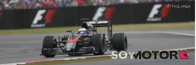 Fernando Alonso en el pasado Gran Premio de Gran Bretaña - LaF1