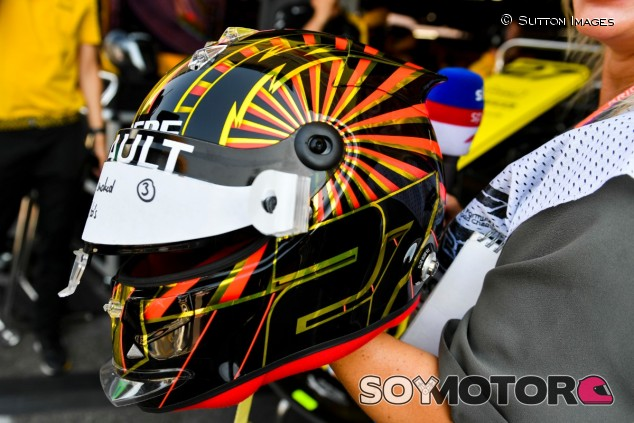 Casco especial de Hülkenberg para el GP de Alemania 2019 - SoyMotor.com