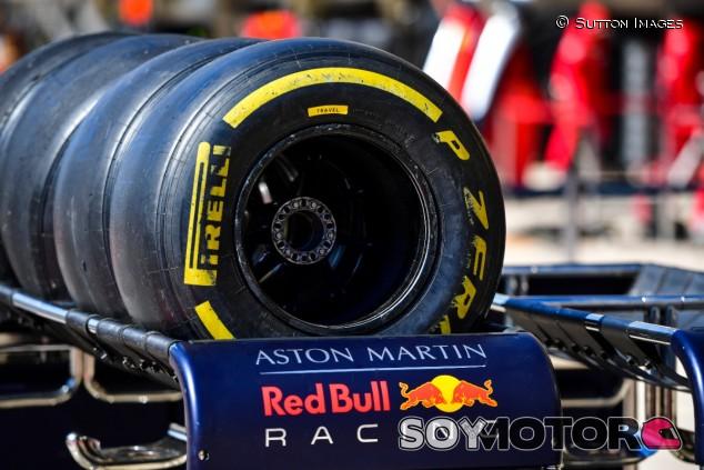 Neumáticos Pirelli 2019 del equipo Red Bull - SoyMotor.com