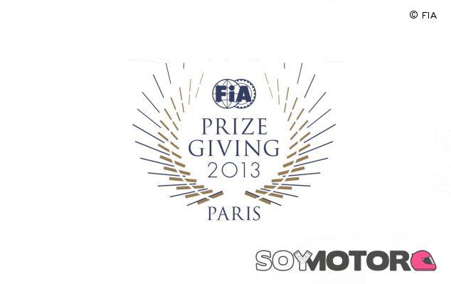 Emblema de la ceremonia de premios de la FIA de este año - LaF1