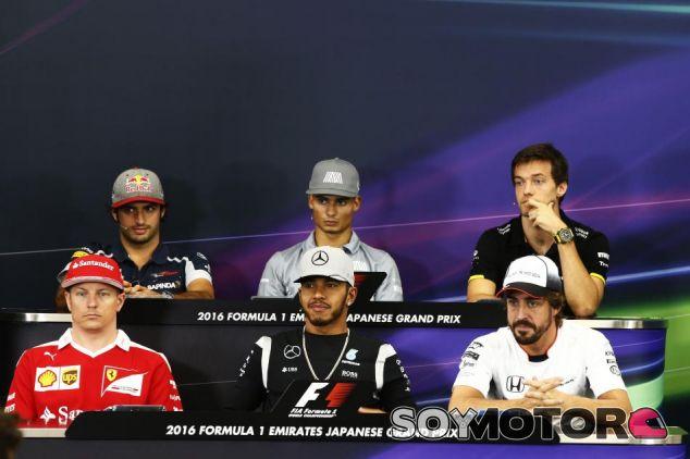 Rueda de prensa del GP de Japón F1 2016: Jueves - LaF1