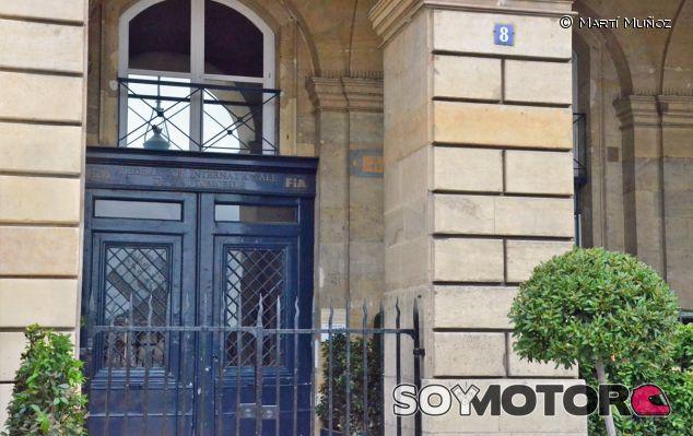 Sede de la FIA en París - LaF1
