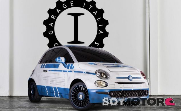Dos de los personajes de 'Star Wars: The Force Awakens' tienen su propio Fiat 500 - SoyMotor