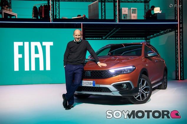 Luca Napolitano en la presentación del nuevo Fiat Tipo - SoyMotor.com