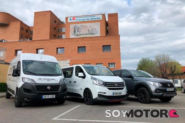 Vehículos de FCA en una imagen de archivo - SoyMotor.com