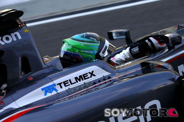 Adderly Fong en su debut en la Fórmula 1 - LaF1