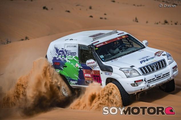 Joan Font, en el podio de su categoría: TT Diésel de serie - SoyMotor.com