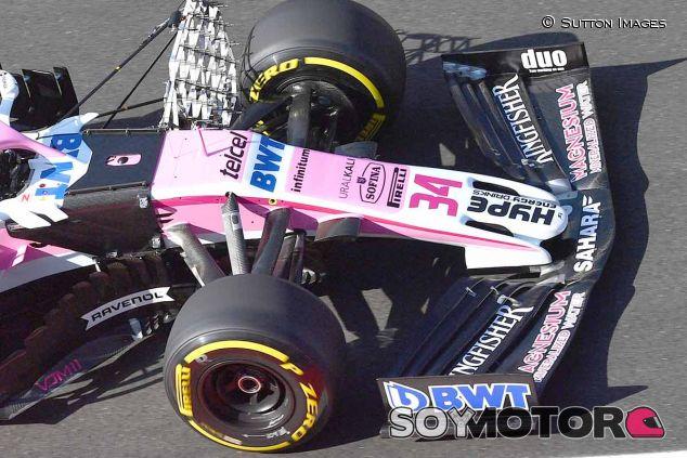 Force India y Williams estrenan un alerón delantero al estilo 2019 - SoyMotor