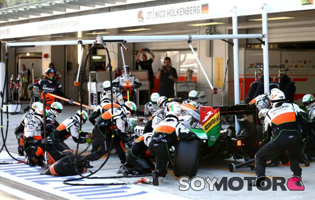 Force India en el GP de Estados Unidso F1 2014: Previo - LaF1