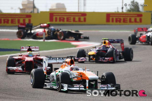 Paul di Resta durante el Gran Premio de Baréin de 2013 - LaF1