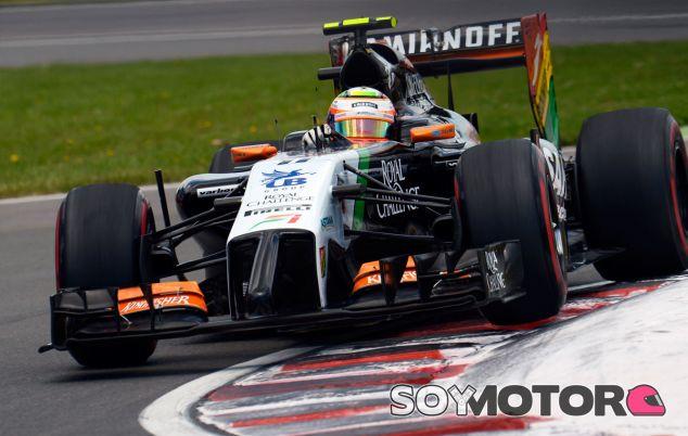 Sergio Pérez en el Gran Premio de Canadá - LaF1