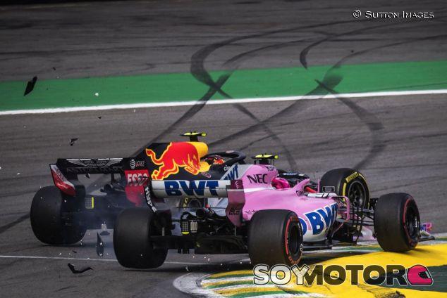 Colisión entre Verstappen y Ocon - SoyMotor.com