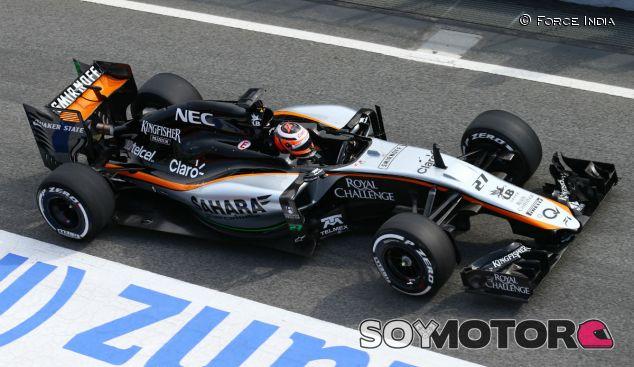 Nico Hülkenberg con el nuevo Force India - LaF1