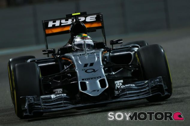 Force India renueva con la marca de bebidas Hype - LaF1