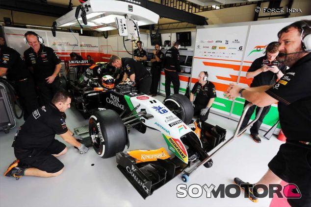 Sergio Pérez en el pasado Gran Premio de Brasil - LaF1