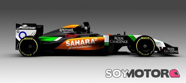 Force India VJM07, el coche de 2014 - LaF1