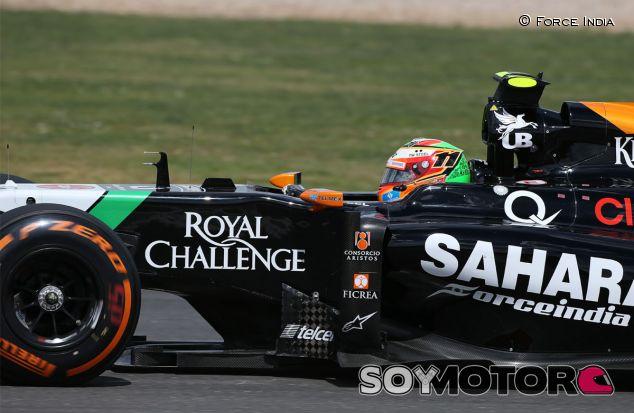Sergio Pérez en Silverstone - LaF1