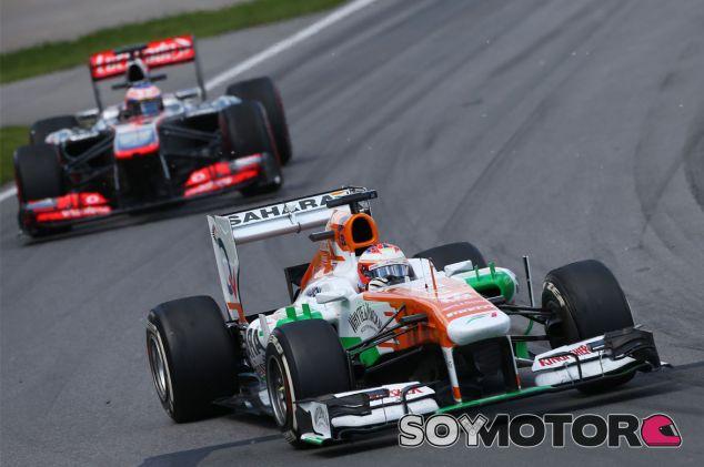 Paul di Resta por delante de Jenson Button - LaF1
