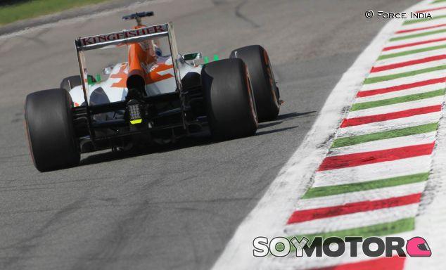 Force India en el Gran Premio de Italia - LaF1
