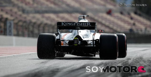 Force India en los test de Barcelona - SoyMotor