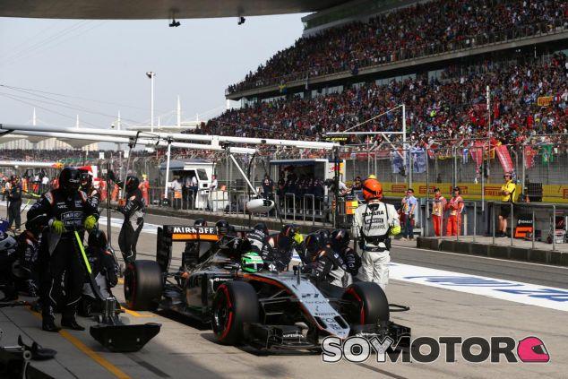 Force India se queda sin puntos en China - LaF1