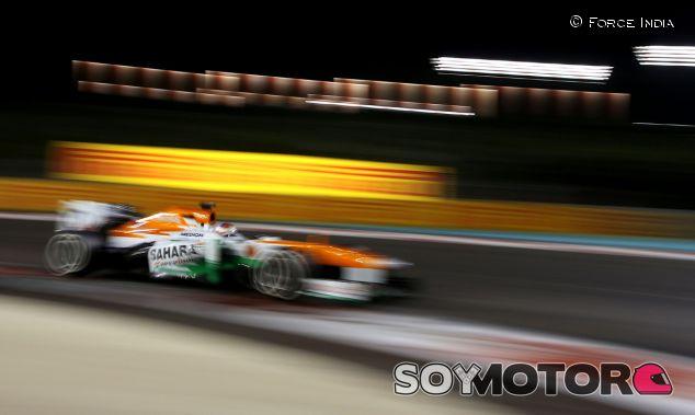 """Force India se fija el """"el podio y la quinta posición"""" para 2014"""