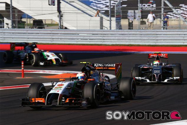 Sergio Pérez y Nico Hülkenberg en Rusia - LaF1