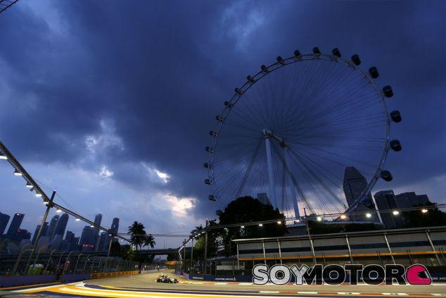 Force India en Singapur - LaF1